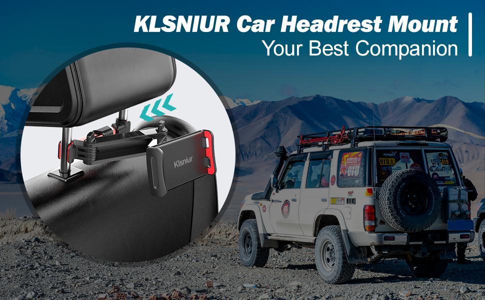 Klsniur Car Headrest Mount