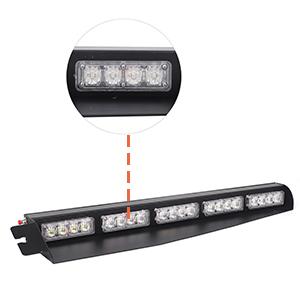 Visor Lights Emergency Lights for firefighter Volunteer Vehicles Trucks red white Warning Flashing