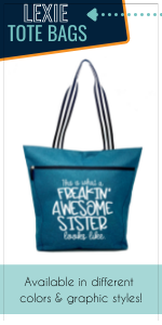 Lexie Tote Bag Work sister Gift