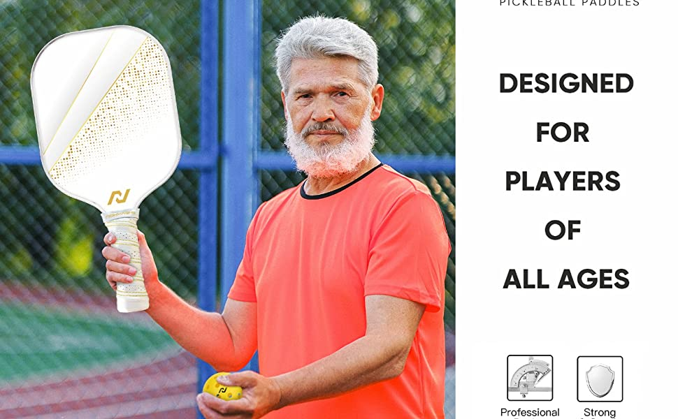 Nokhaizamp;amp;#39;s Pickleball Paddle Set designed for players of all ages