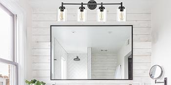 farmhouse black wall light fixture
