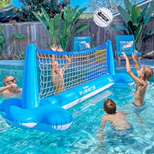pool games, volleyball