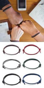 6pcs bracelets for men