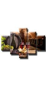 red wine bottle wooden barrel cellar bar beer alcohol glasses fruit grape sunflower candle food