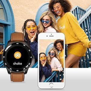 Rogbid GT Smart Watch Fitness Tracker camera controller