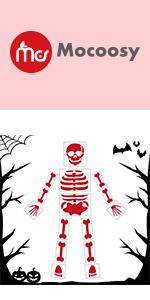 Halloween skeleton stencils