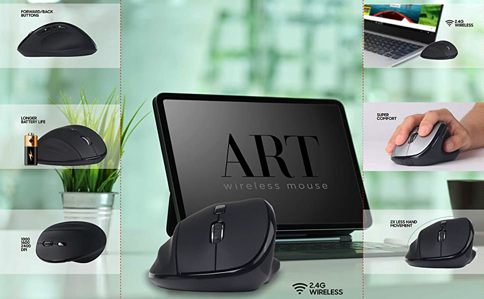 Art Wireless Mouse