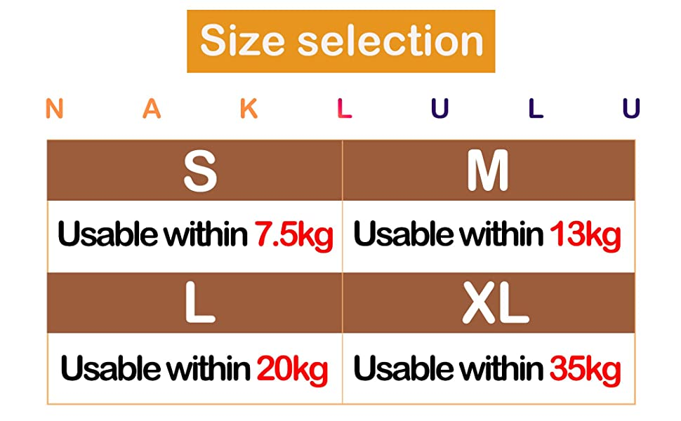 Size selection