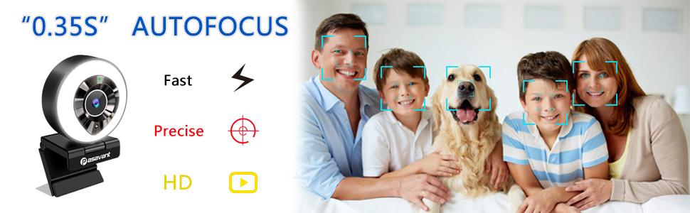 webcam autofocus