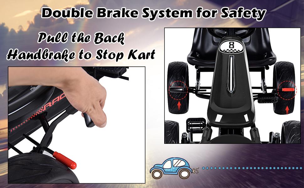 double brake