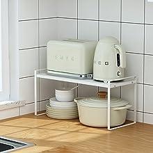 Kitchen Organizer White