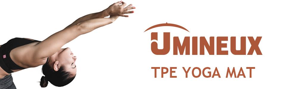 Umineux TPE yoga mat