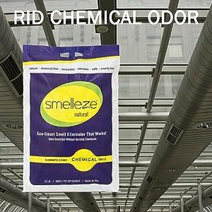 Rid Chemical Odor