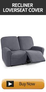 loveseat recliner cover