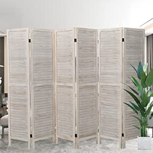 6 Panel Partition Room Divider