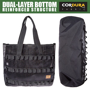Dual-layer bottom with reinforced structure for long-lasting use