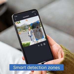 Customize your detection zones