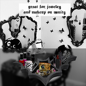 Cosmetics and Jewelry Tray for Vanity