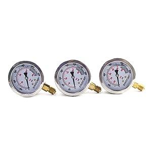 3 gauges