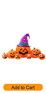 pumpkins family decoration