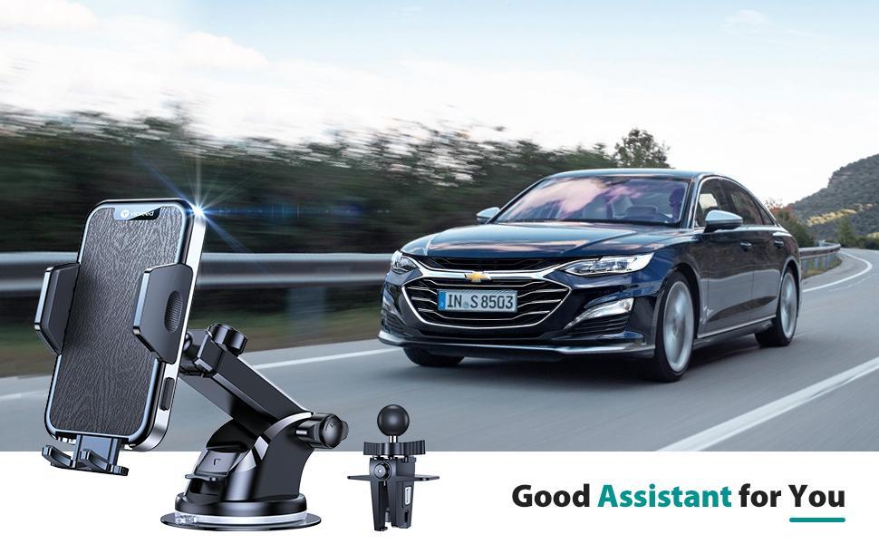 VICSEED phone holder for car phone holder mount car cell phone mount cell phone holder for car