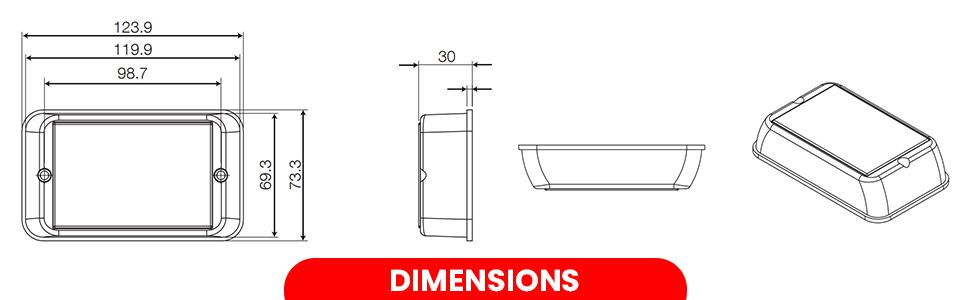 SPN-T2G Dimension