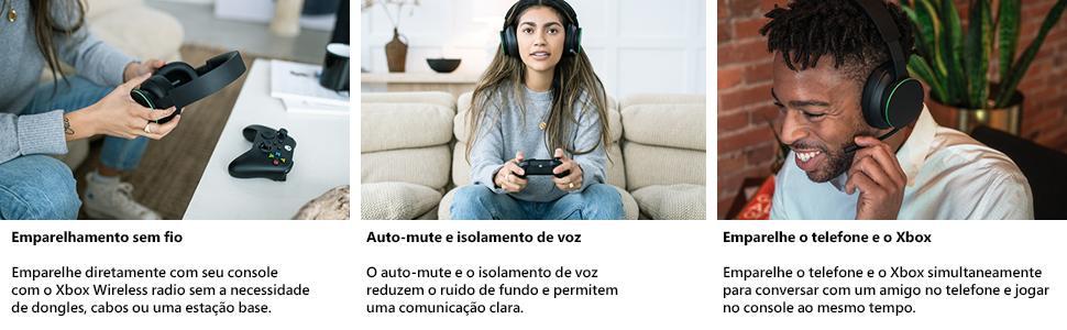 pessoas jogando videogame usando fone