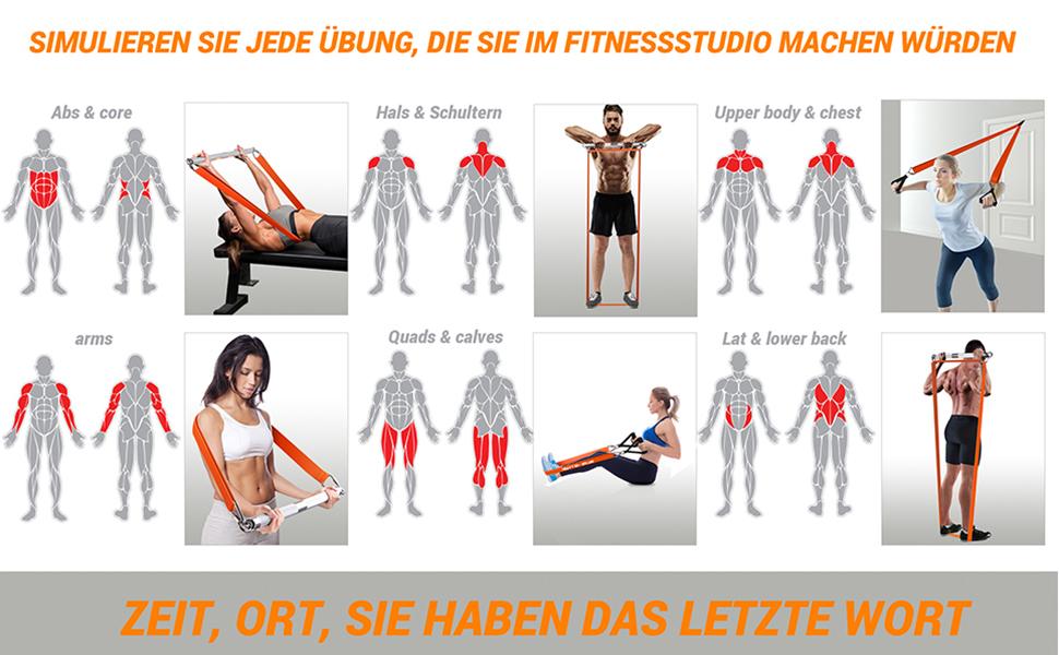 Premium fitnesssysteem voor thuis