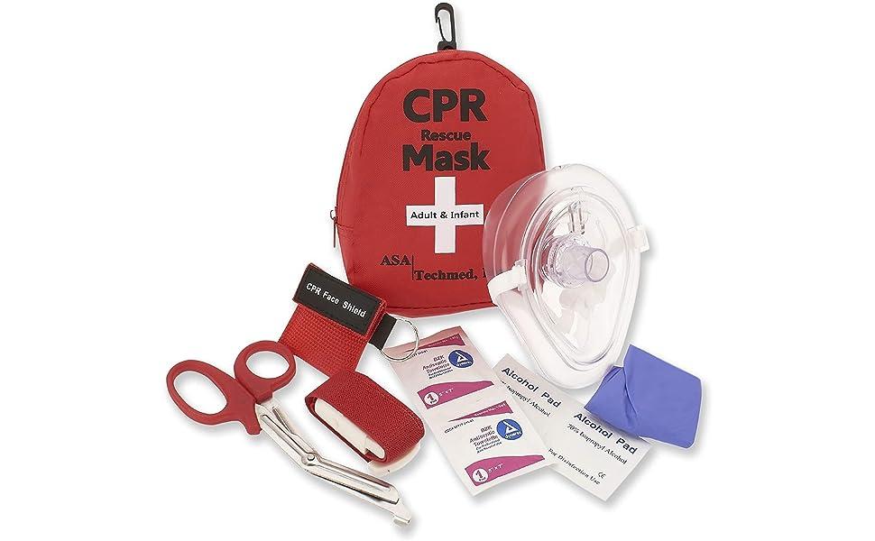 ASA Techmed CPR Rescue Mask