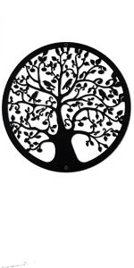 metal tree of life wall decor