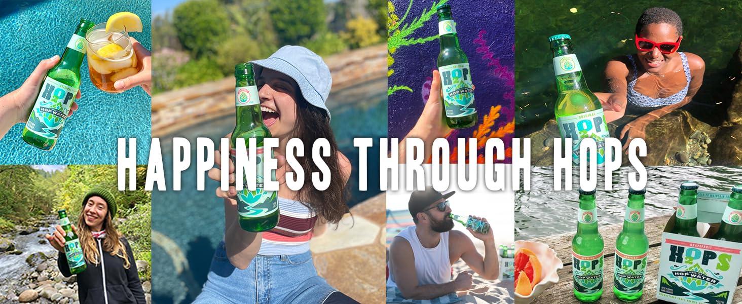 Happiness through Hops, summer refreshment