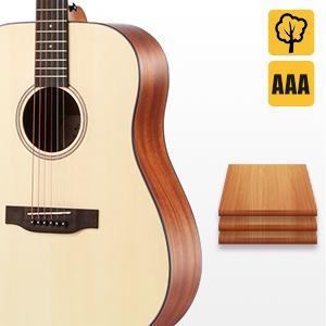 adult acoustica guitar