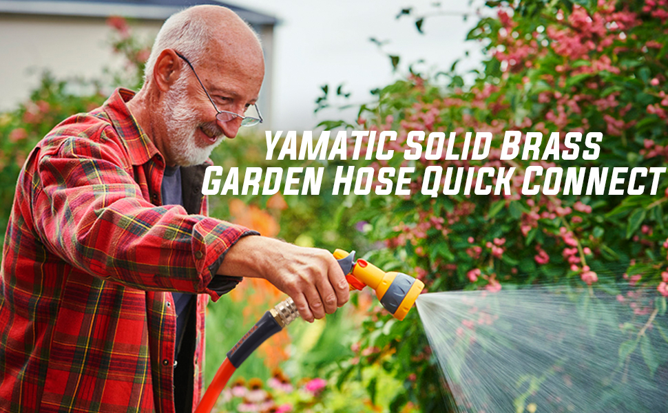 Yamatic Garden hose quick Connect