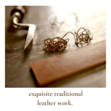 traditional leather work