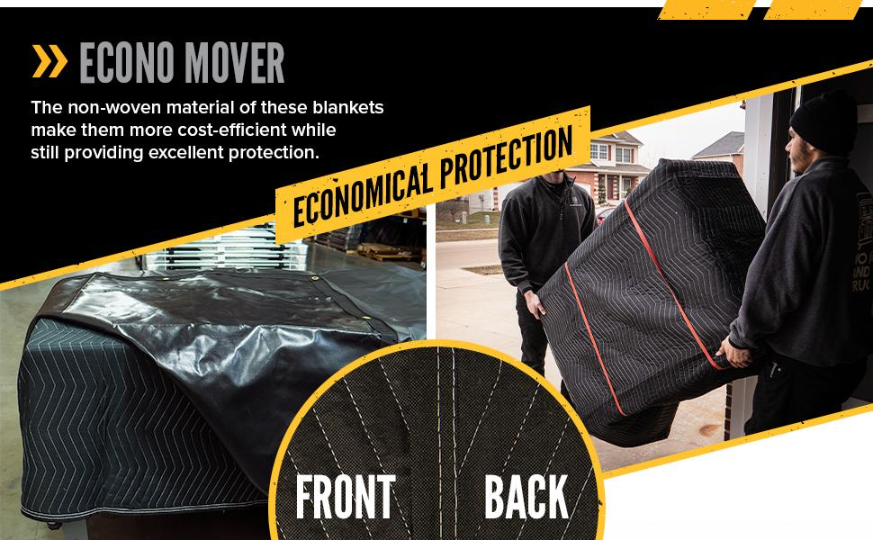 econo moving blanket is a cost effective solution