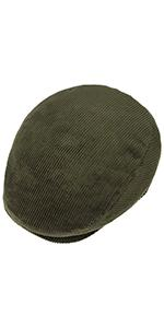 Lipodo Cordial Flat cap from above view