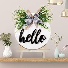 indoor hello sign
