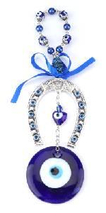 Perle blu malocchio perline ornamento