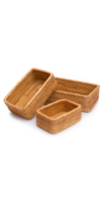 3 compartment basket basket with dividers small wicker basket small square baskets for organizing