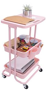 Utility Cart with Lockable Wheels