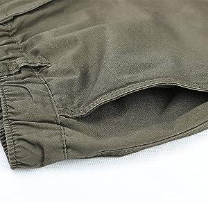 Cargo Shorts for Men Capris  3/4 Pants with Pockets Bermudas Climbing Hiking Long Short Pants Men