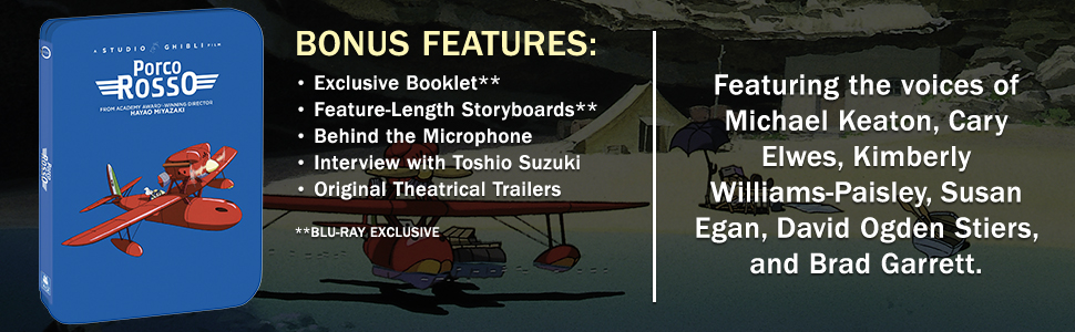 Porco Rosso SteelBook Footer