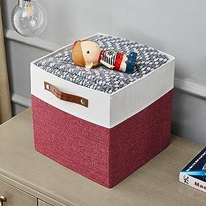 DECOMOMO storage bin container cube box basket