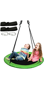 40 inches  Tree Swing Green, 1 Pack