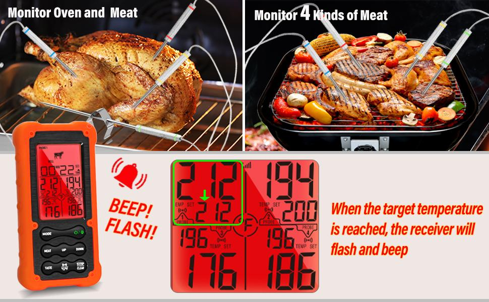 meat thermometer instant read for grilling
