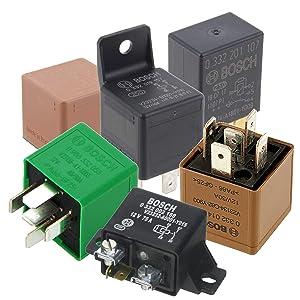 Bosch Relays - Micro Relays, Mini Relays, Power Relays
