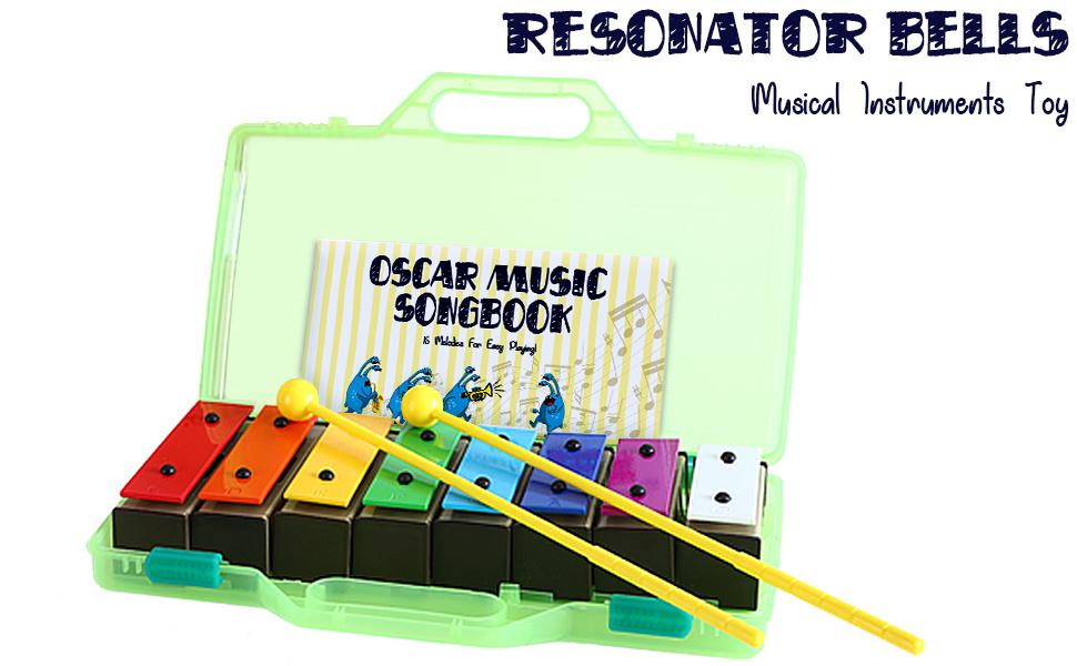 MiniArtis resonator bells set for kids