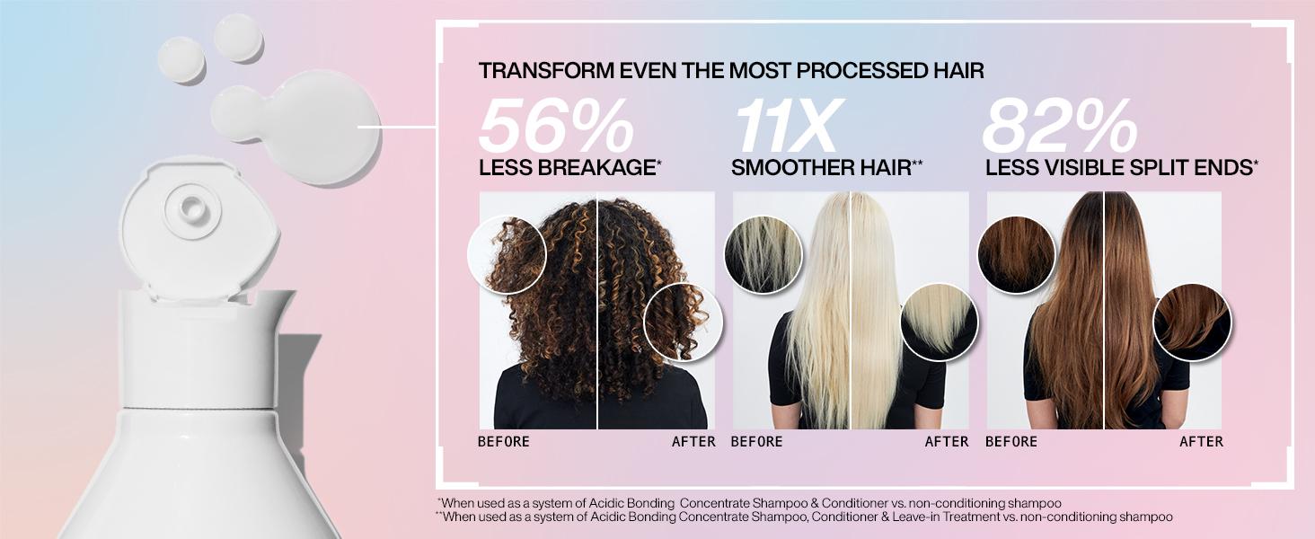 bonding shampoo, bonding conditioner, bonding hair treatment, damage repair, damaged hair, color