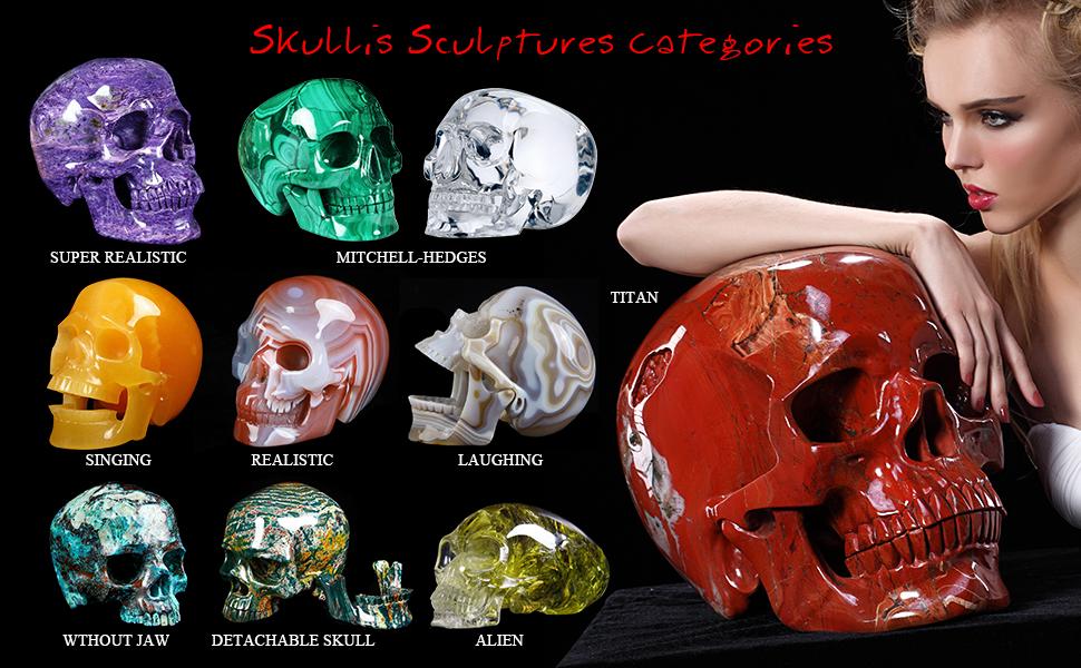 Skullis Sculptures Categories