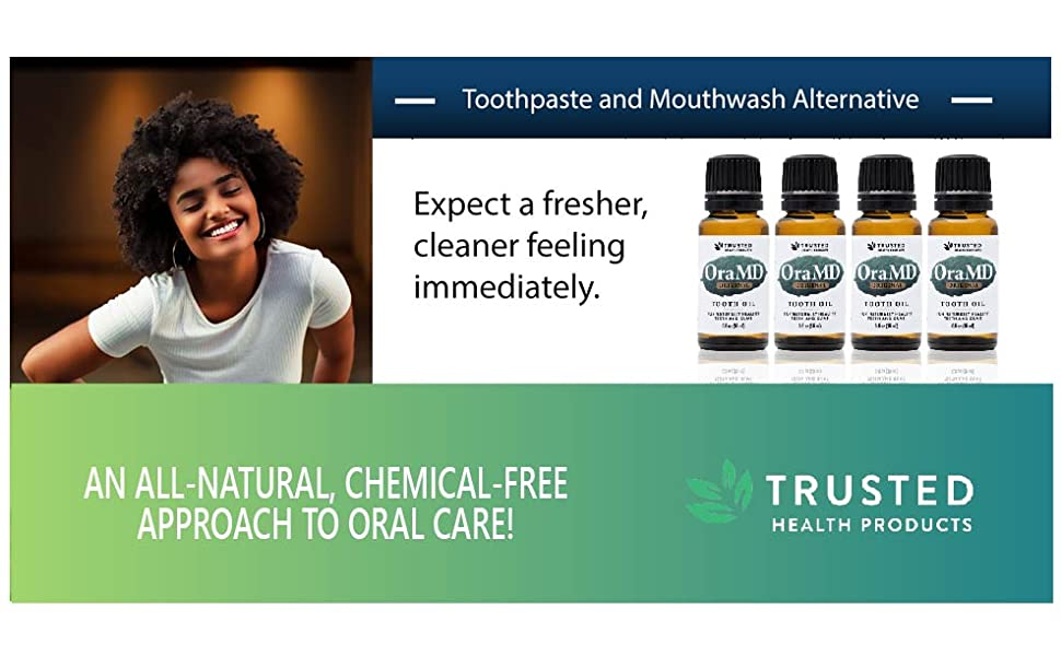 all-natural alternative mouth oral care ora md oraMD mint tooth oil